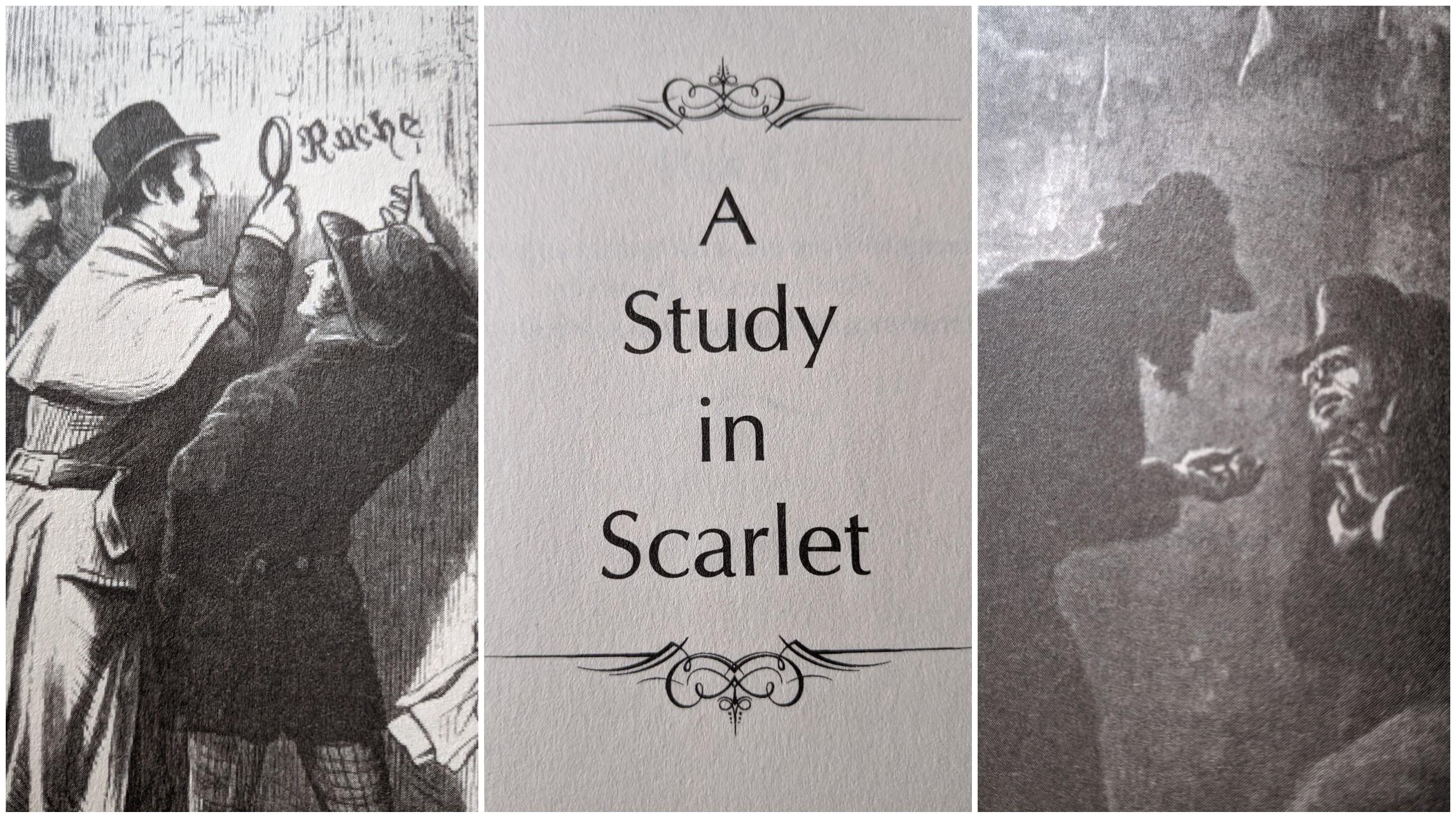 A Study in Scarlet- Sherlock Holmes by Sir Arthur Conan Doyle