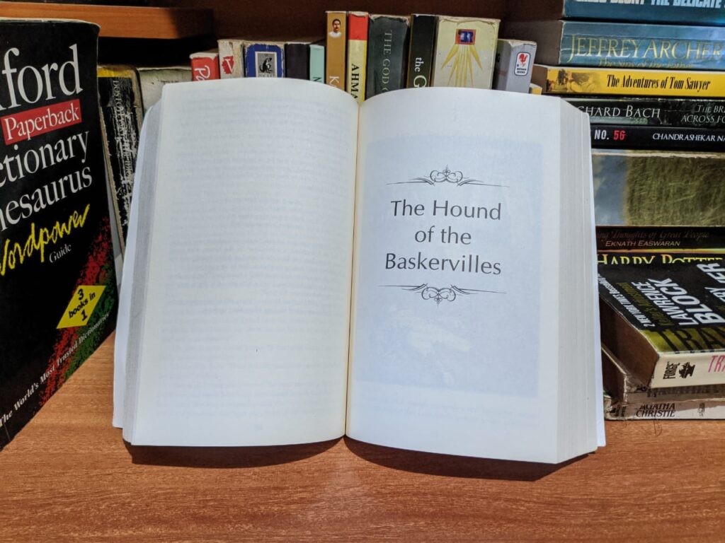 The Hound of the Baskervilles- Sherlock Holmes