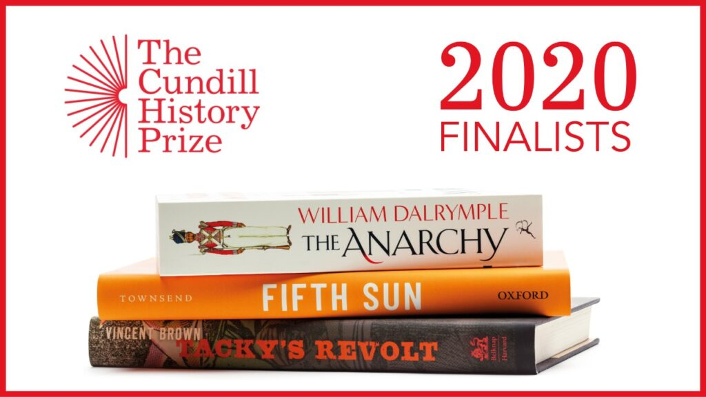 Cundill History Prize 2020 Finalists Announced