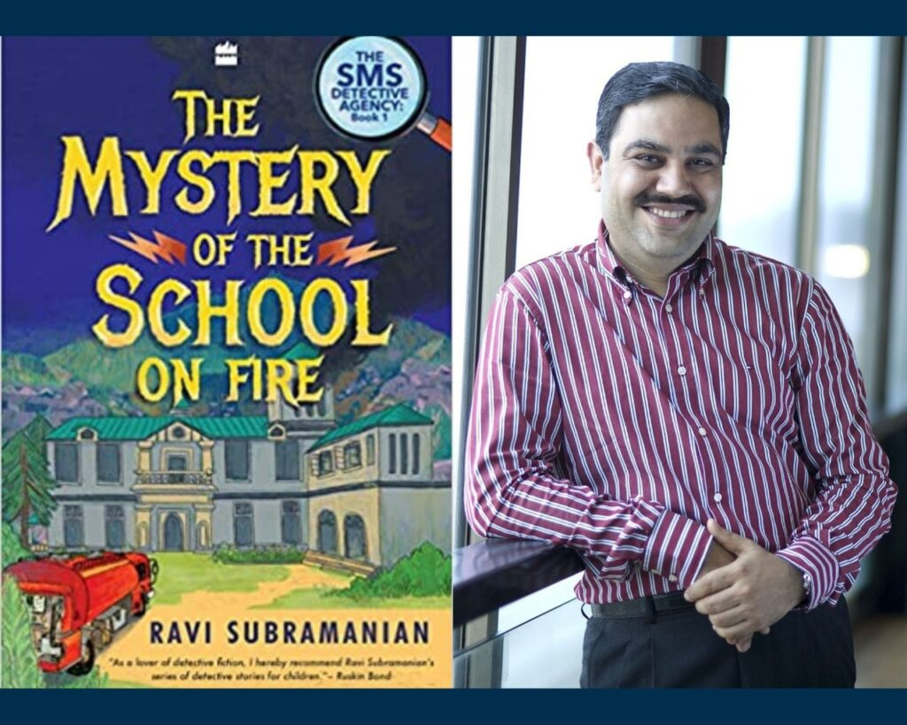 Ravi Subramanian's Latest Book is a Children's Mystery Novel