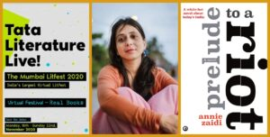 Annie Zaidi Wins the Fiction Book of the Year 2020 at Tata Lit Live! Awards tata literature live