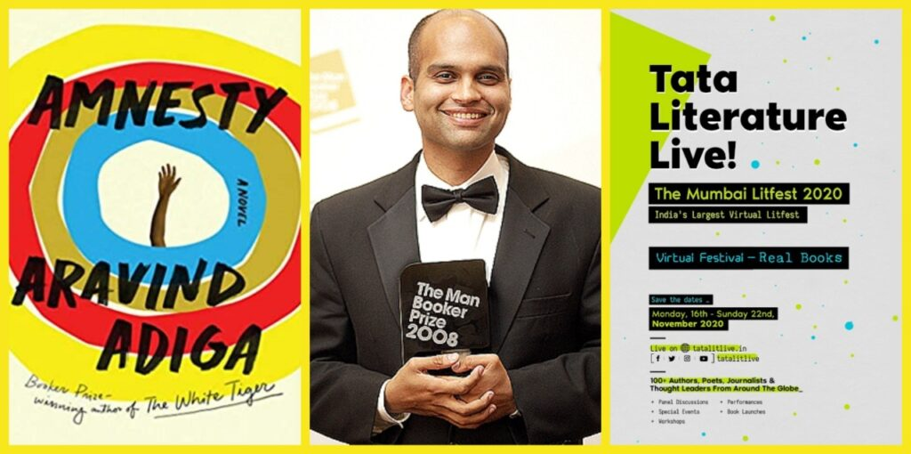 Aravind Adiga's AMNESTY Longlisted for TATA Literature Live Book of the Year Award
