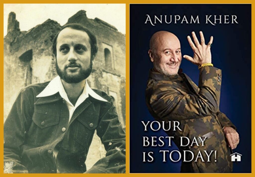 Anupam Kher's Your Best Day is Today to Launch on December 05