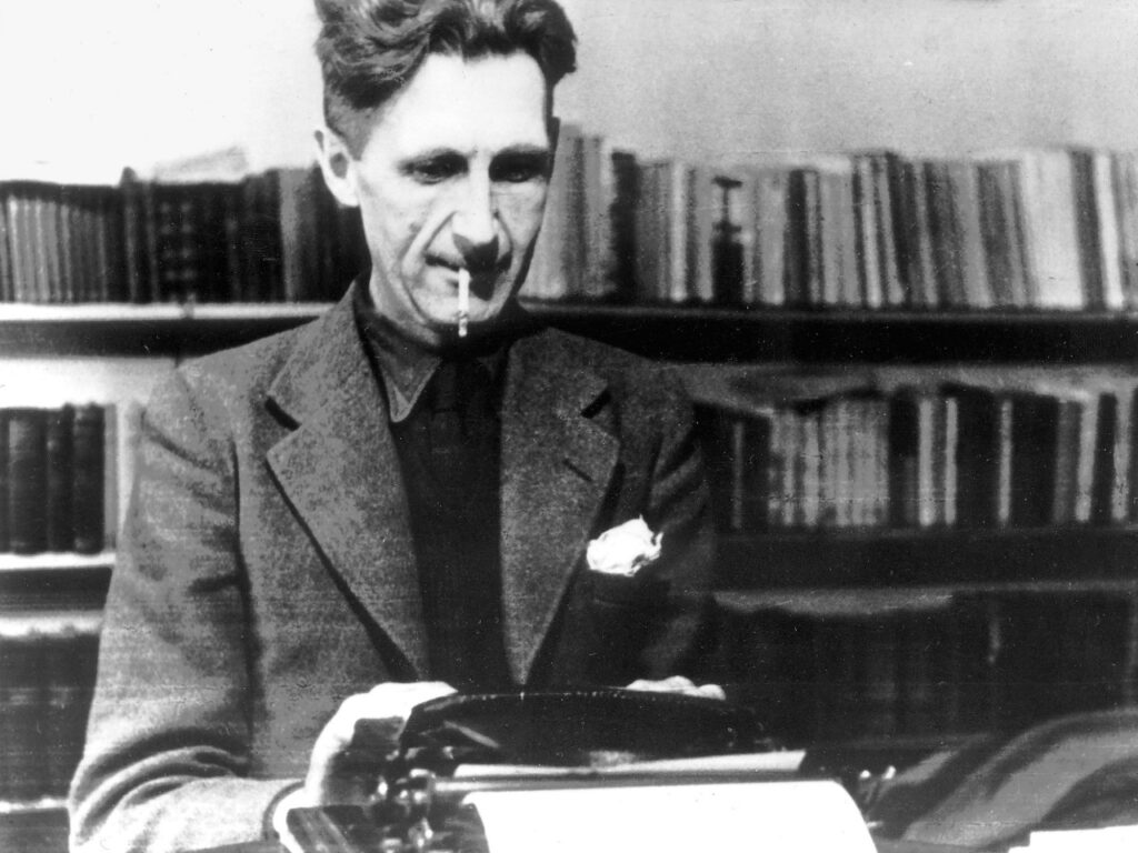 George orwell - Popular political and social Global Ideologies which are Anarchism Socialism Fascism Capitalism and Books About Them
