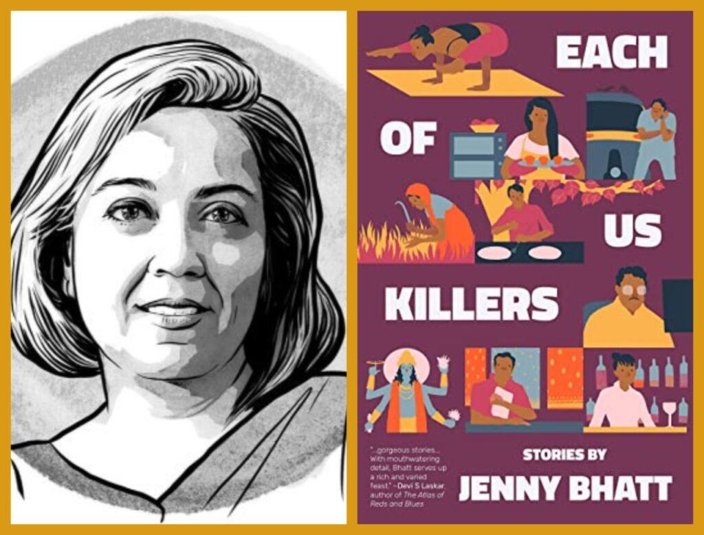 Jenny Bhatt's 'Each of Us Killers' on SPD Fiction Bestseller List - Renowned translator Jenny Bhatt's debut book,