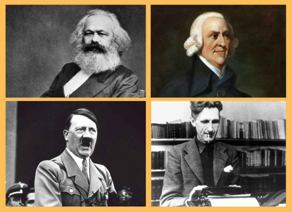 Popular political and social Global Ideologies and Books About Them