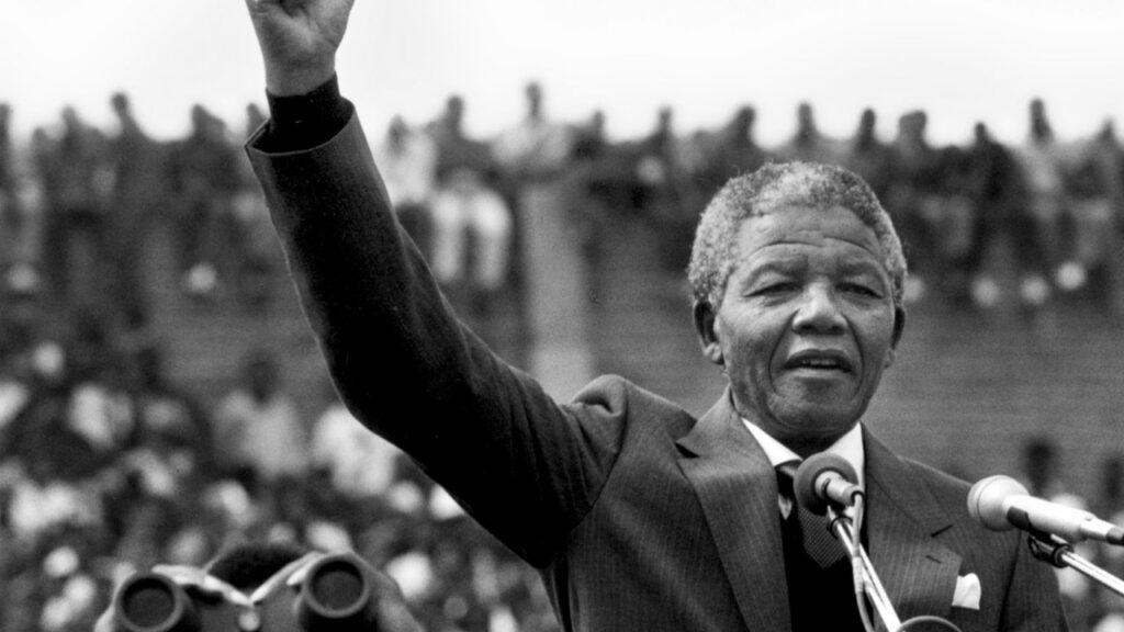 Revolutionary Leader -Nelson Mandela
