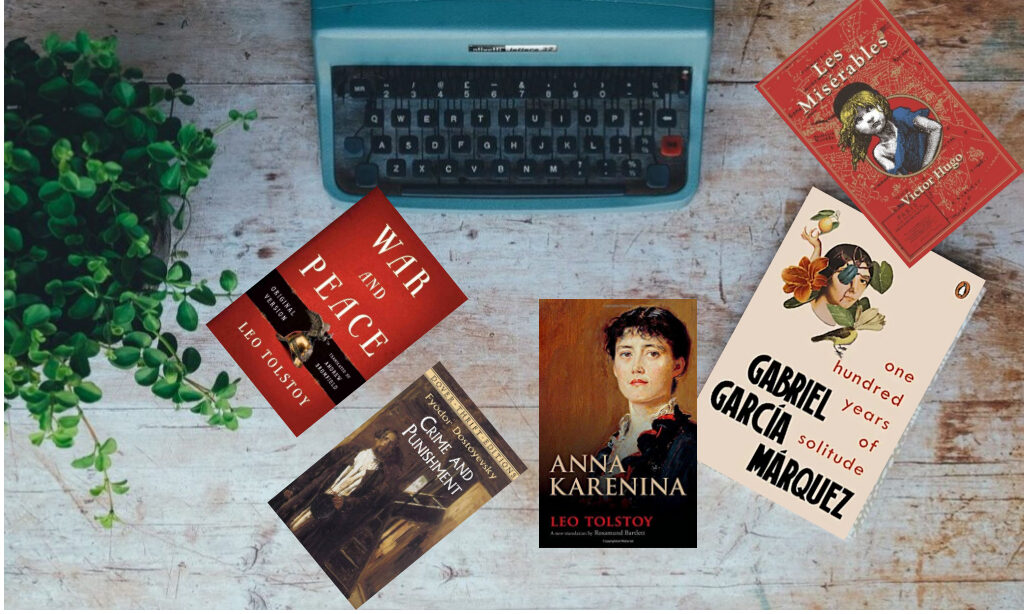 Top 5 Books I want to Read in My Lifetime (Fiction)