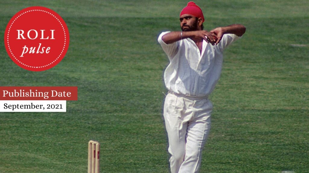 Roli Books to Launch Book on indian cricketer Bishan Singh Bedi