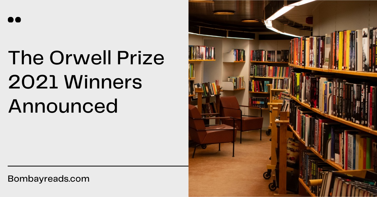 The Orwell Prize 2021 Winners Announced