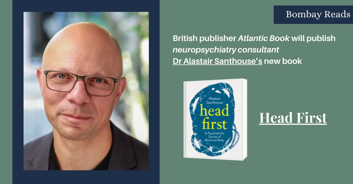 Atlantic to Publish Alastair Santhouse's New Book head first